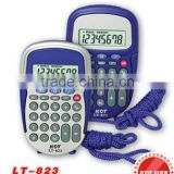 8-digit credit card size cosmetic hello kitty calculator LT-823