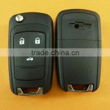 Good quality Chevrolet 3 Button remote key with 433mhz, chevrolet cruze key,key car chevrolet free shipping 60% by DHL