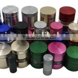 "Beautiful polished sharp teeth tobacco spice herb 2.5"" herb grinder                                                                                                         Supplier's Choice"