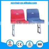 Libra cheap price soccer stadium seat with middle backrest sport chair