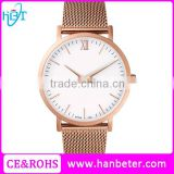 Trend design shenzhen super slim mens stainless steel watch watches men luxury brand automatic