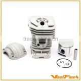 Quality chainsaw parts/chain saw parts/ Cylinder&piston assy(Dia:38mm) fits Husqvarna137/142