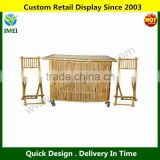 3 Pc Bamboo Bar Set with Stools YM5-1435