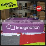 Printed Aluminium event trade show ceiling banner,hanging banner