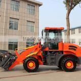 4 wheel drive small farm tractor front end loader