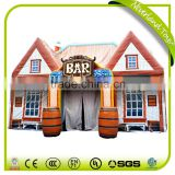 New Design 2016 NEVERLAND TOYS High Quality Giant Protable Meet In A Bar Inflatable Serving Bar For Sale