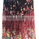 Bohemian Gypsy Summer Skirt Traditional Indian Long skirts Lovely Floral Prints