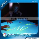 ChariotTech interactive projection display system,interactive bar tables with light halo effect