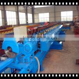 Christmas sale ! Color Coating Steel Downspout Roll Forming Machine With Mitsubishi PLC Systerm