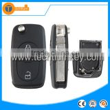 2 button car key blank case big 2032 battery For Audi A6 remote key