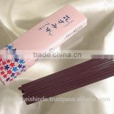 Gyokushodo Incense Sticks, Hanasumire buke (Bouquet of Violets), Less Smoke Type, Trial Size