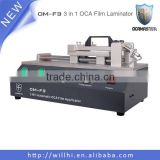 Hot Sale! 3 in 1 OCA Film Laminating Machine OM-F3 With Built-in Compresoor & Vacuum Pump