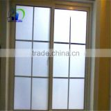 acid etched tempered window glass office full height glass wall partition tempered frosting glass size