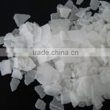 lower price with higher quality 99% Sodium hydroxide price caustic soda flake in 25kg bag