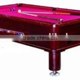 Coin Operated Pool Table (coin pool table, coin billiard table,slate pool table with coin system, coin slate billiard table)