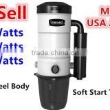 Menred home vacuum cleaner central system with AMETEK motor dust free Central vacuum cleaner