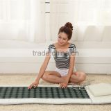 infrared tourmaline jade heating massage bed infrared yoga mat thermal mattress