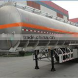 Tri-axle V shaped cement bulker, bulk cement tank semi trailer, bulk cement trailer for sale