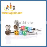 JL-402 Smoking Pipes dry herb vaporizer pipe ,long stem smoking pipes,Cigarette Metal Pipe