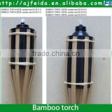FD-16311 Garden oil bamboo torch ,outdoor natural torch,table torch