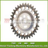 C45 Steel 34 Teeth S706 3538854 Roller Timing Gear/Sprocket/Kettenrad/Pinon/Pignon/Roda Dentada Wheel with 12.7mm Pitch 34 Teeth