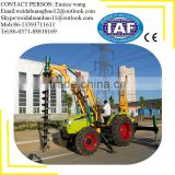 Hydraulic Earth Drilling Machine bored piling equipment hydraulic post hole digger