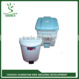 China Latest top consumable and low price experienced plastic kids trash can injection mould