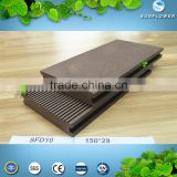Recycled Wood Plastic Composite Decking Outdoor Anti-UV WPC Flooring