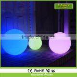 Resort garden led mood light ball/led light up swimming poolball