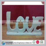 "Wooden Words/Letters Free Standing ""LOVE"" Wedding/Home Wall/Door Decoration Art"