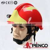 fire fighting safety helmet teflon hign temputure resistant aramid products fireman used