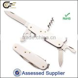 Multi knife pocket knife with stainless steel multifunction knife Folding Multifunctional Pocket Knife