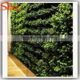 Hot sale artificial green wall made of artificial ivy fence artificial green leaf fence for wall decoration