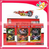 Diecast motorcycle moto car model 12pcs/display box