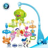0-12 Month Baby Cute Rattle Musical Toys High Quality Baby Plastic Mobile Toys For Newborn