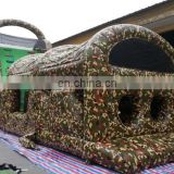 giant army inflatable obstacle course