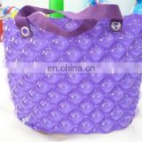 inflatable purple shopping bag