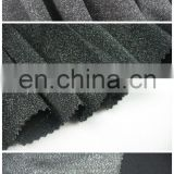 Factory made to order 11%nylon 3%spandex 22%filamentary silver 64% rayon punto knitted roma fabric