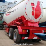 30/40/50/60m3/ Cbm Pneumatic Bulk powder/Cement Tank Trailer with Q235 material