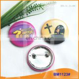 Custom Tin Plate Round Colorful Badge Buttons BM1123