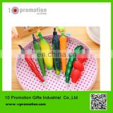 Plastic creative stationery ballpoint pen/colorful vegetables for study
