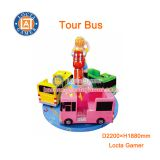 Zhongshan amusement playground mini Carousel Tour Bus rides kiddie rides
