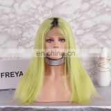 2018 hot sale brazilian hair color hair cosplay wig lace front wig