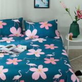 100% polyester pigment printed flower design Baiyi textile Fabric for bedding