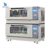 Horizontal superimposed constant temperature shaker machine