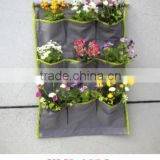 vertical garden wall pocket planter/ vertical wall garden planter