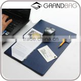 2016 new design custom saffiano leather mouse mat mouse pad mousepad