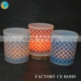 glass block print web design glass jars / containers for candle/ hand carved candle holders                                                                         Quality Choice