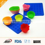 chocolate muffin cupcake baking tray mould or pie mold and silicone round cake pan
