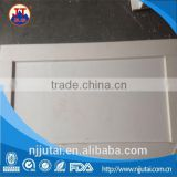 CNC machining welding ceramic white PP tank parts